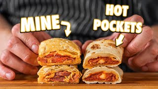 Making Hot Pockets At Home | But Better