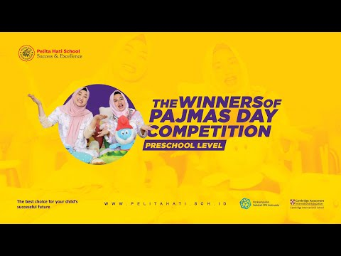 the WINNERS of Pajmas Day Competition 2020 I Preschool Level