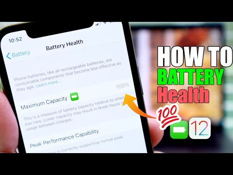 100 % iPhone Battery Health - How to do it