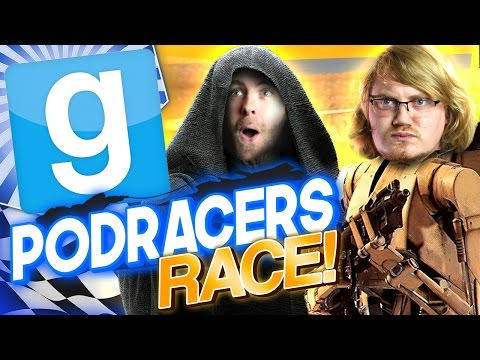 RACE | Gmod Podracer Challenge #2