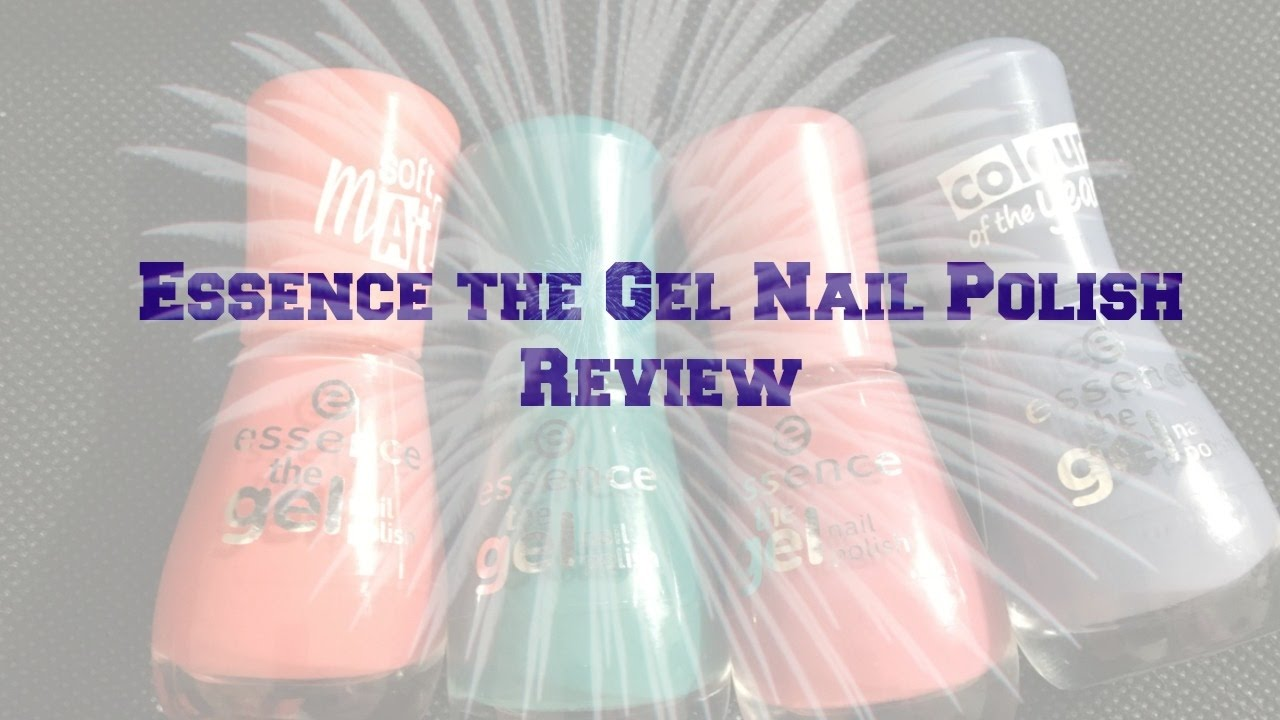 Essence the Gel Nail Polish Review ---ULTA - YouTube