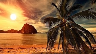 Relaxing Background Music - Easy Listening Music Instrumental - Ocean Waves Sounds With Music
