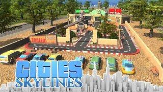 Verkehrspark aus Mass Transit - Cities Skyline - DLC City 79