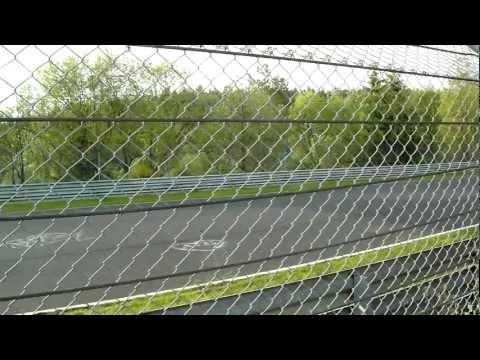 Nurburgring 24 Hours 2012 - Mercedes SLS AMG GT3 on final straight HD
