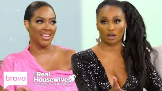 "Kenya Moore Claims Cynthia Bailey Has ""Cookie Dough"" on Her Hands  