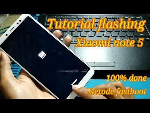 cara-flashing-xiaomi-redmi-note-5-pro-metode-fastboot