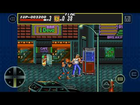 streets of rage: a game NOT for kids. with commentary part 1  