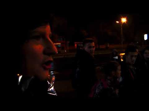 MUSLIMS DESTROY CAMERA---SKOPJE MACEDONIA--USA STREET PREACHER