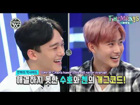 [ENGSUB] Chen's Opinion about Funniest and Boring Member in EXO@Star Show 360 EXO cut