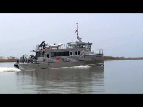 New Research Vessel for California Department of Water Resources
