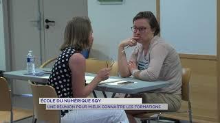 Ecole du numérique SQY : Une réunion pour mieux connaître les formations