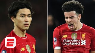 Jurgen Klopp excited about Takumi Minamino and Curtis Jones after Liverpool win vs. Everton | FA Cup
