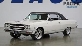 1965 Chevrolet Chevelle SS Convertible