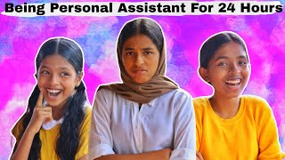 Being our PERSONAL ASSISTANT for 24 hours|MALAYALAM|THE3SISTERS