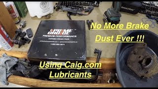BMW E39 5 Series Ceramic Front Brake Pads No More Brake Dust, CAIG.COM Lubricants
