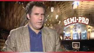 Will Ferrell talking about his tight shorts on Semi-Pro