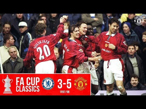 FA Cup Classic | Chelsea 3-5 Manchester United (1998) | Five star Reds stun Stamford Bridge