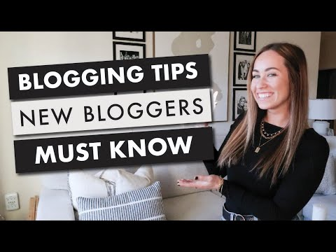6 Blogging Tips New Bloggers Must Know | By Sophia Lee