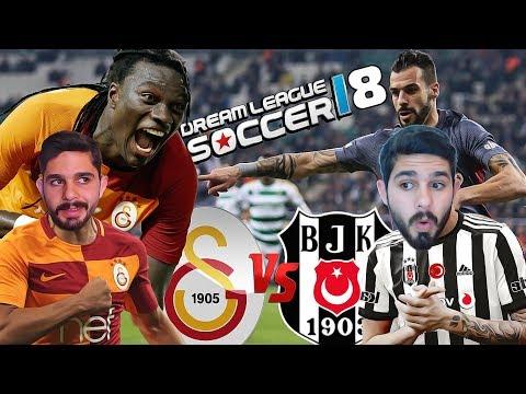 Galatasaray vs Beşiktaş - En Fazla Gol Atma Challenge ! Dream League Soccer 2018
