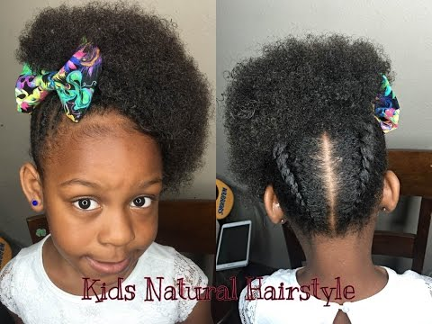 Natural Style For Little Girls | Twist With Natural Curls