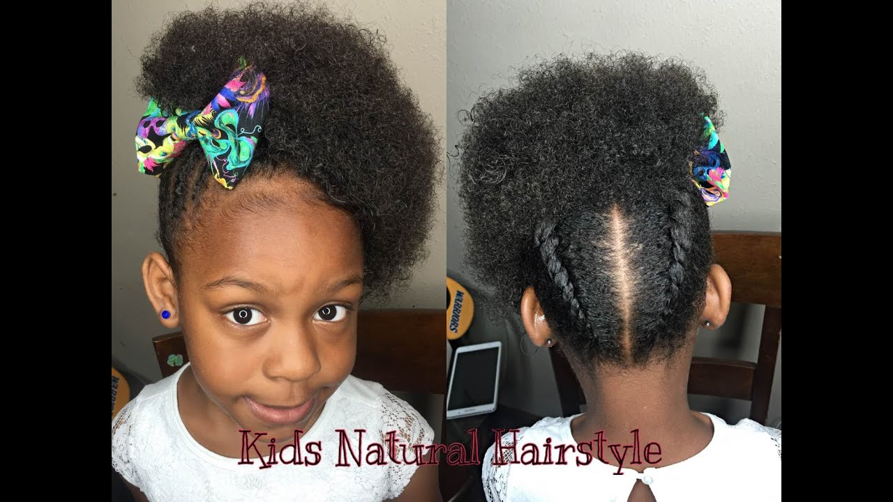 natural style for little girls | twist with natural curls - youtube