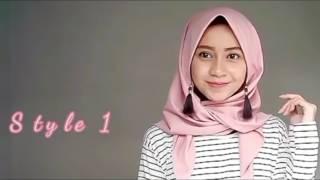 Pecinta Hijab Tutorial Hijab Menggunakan Anting