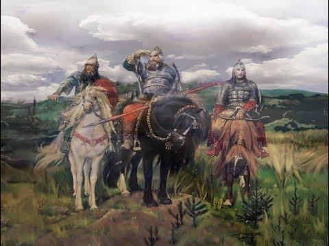 Сказка Три богатыря и Ковчег на Самоваре.
