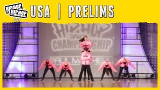 Killer Beez - Torrance, CA (Varsity) at the 2014 HHI USA Prelims
