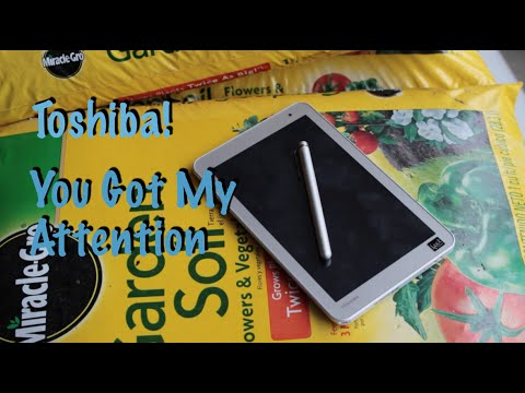 Toshiba Encore 2 Write Unboxing and First Impressions!