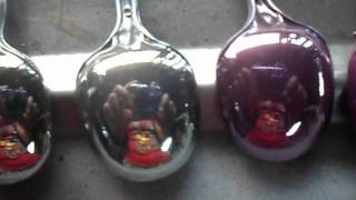Colored chrome spoons2
