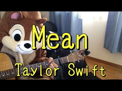 Mean/Taylor Swift/Guitar Cords