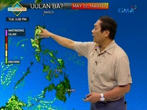 UB: Weather update as of 6:11 a.m. (May 22, 2018)