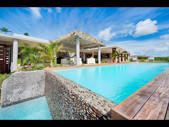 Caribbean Luxury Real Estate, Saint Martin, Terres Basses. Villa Bahia Blue