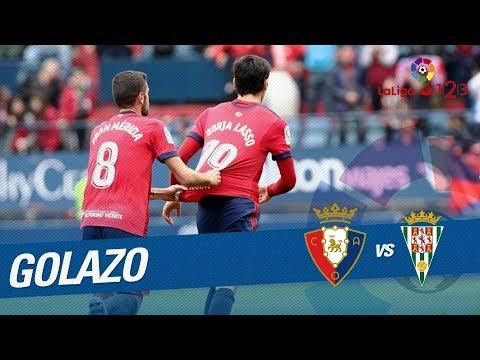 Golazo de Borja Lasso (1-1) Osasuna vs Córdoba CF