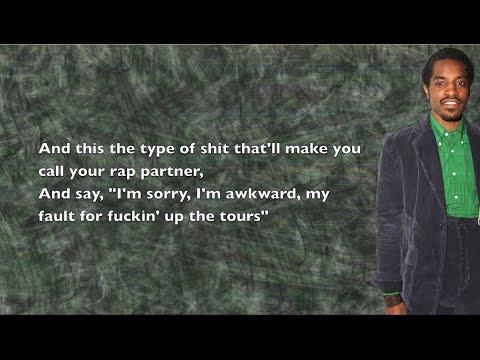 André 3000 - Sorry - Lyrics