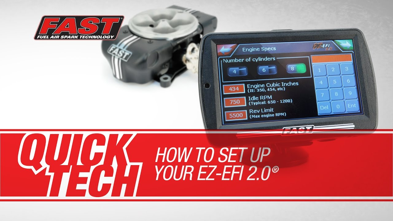 FAST Quick Tech: Setting Up Your EZ-EFI