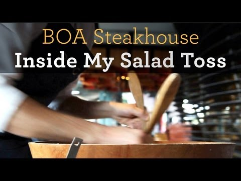 Inside My Salad Toss: BOA Steakhouse