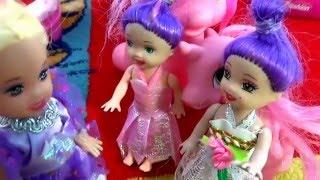 Мультик про кукол. К Кате пришли гости. Видео для девочек. Даринелка ТВ/cartoons about dolls