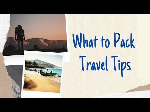 What to pack when Backpacking in Asia