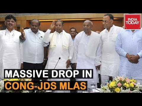 10 Out Of 15 Cong MLAs Quit, MLAs To Meet Amit Shah And JP Nadda