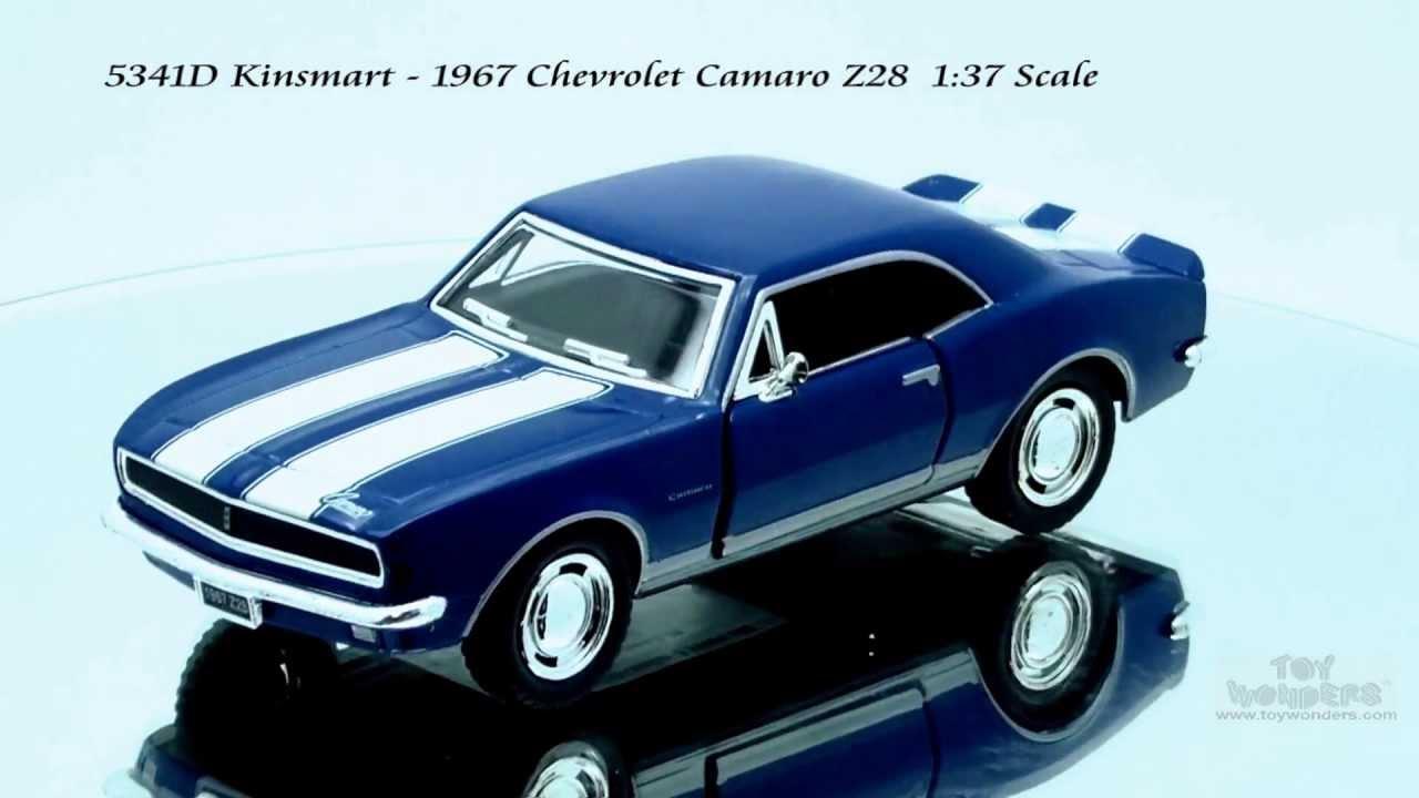 5341D Kinsmart 1967 Chevrolet Camaro Z28 137 Scale Diecast Wholesale