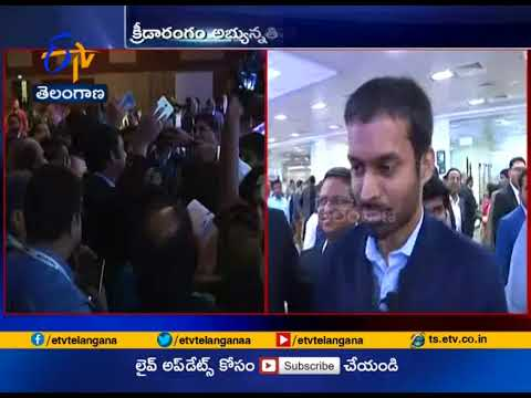 Technology is Key Role  | in Sports Development Also | By  Gopichand at IT Congress