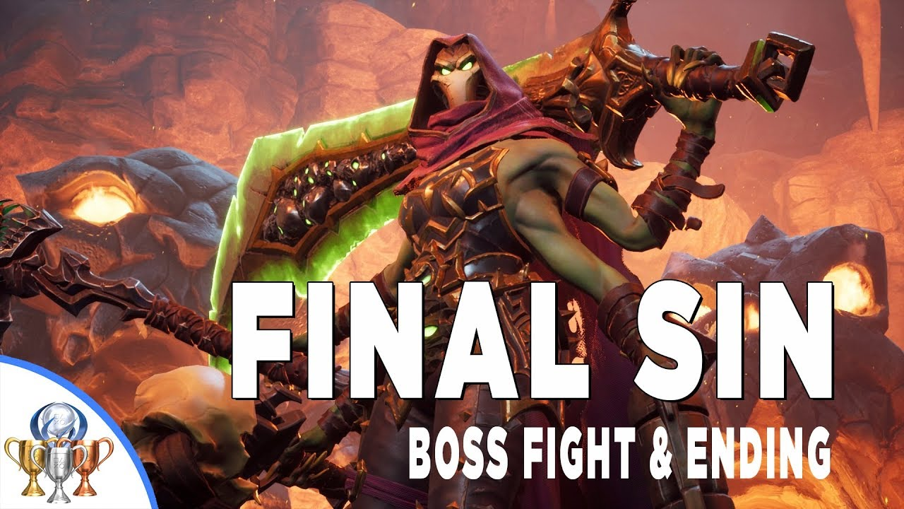 Darksiders 3 FINAL SIN Envy Boss Fight #8 - Ending and Post Credits Cutscene