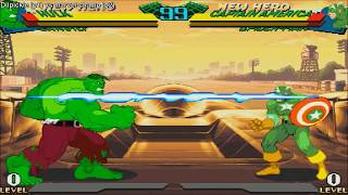 [HD] - Fightcade - Marvel Super Heroes Vs Street Fighter - Dilpickle(USA) Vs Marvel-Champ(USA)