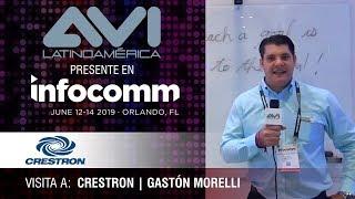Visita a Crestron durante  InfoComm Orlando 2019