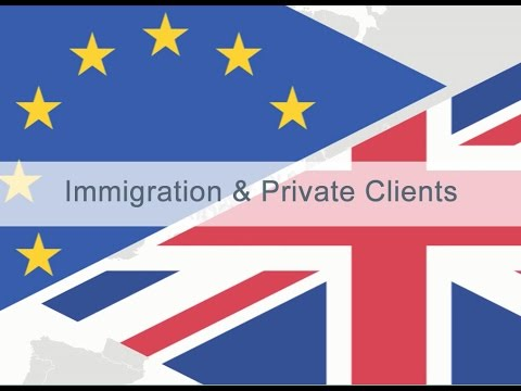Immigration and Private Clients