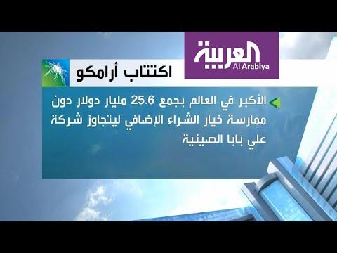 أرامكو تنهي أكبر طرح في العالم وتجمع 25.6 مليار دولار  - نشر قبل 46 دقيقة