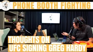 Jessica-Rose Clark Critical of the UFC Signing Greg Hardy
