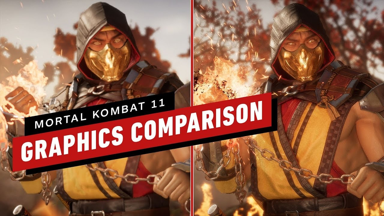 Mortal Kombat 11 Graphics Comparison Pc Vs Switch Vs Ps4 Pro Vs