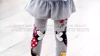 Aliexpress Minnie and Mickey leggings unboxing and review Otváranie balíčka s Minnie Mickey leginami
